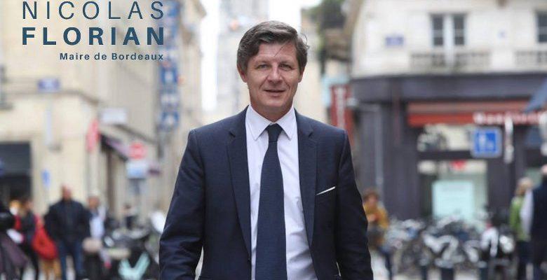 Nicolas Florian élu maire de Bordeaux…et déjà candidat !
